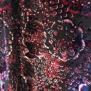 Urban outfitters velvet open back dress
